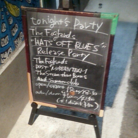 The Foglands presents『Hats Off Blues』Release Party