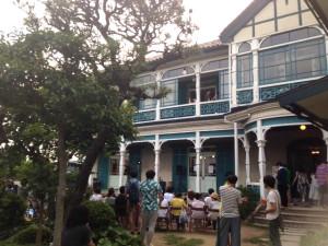 『RUBYSTAR vol.4』王舟『wang』release party: at 神戸塩屋旧グッゲンハイム邸 外観