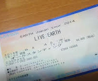 EARTH JAPAN TOUR 2014 大阪:チケット