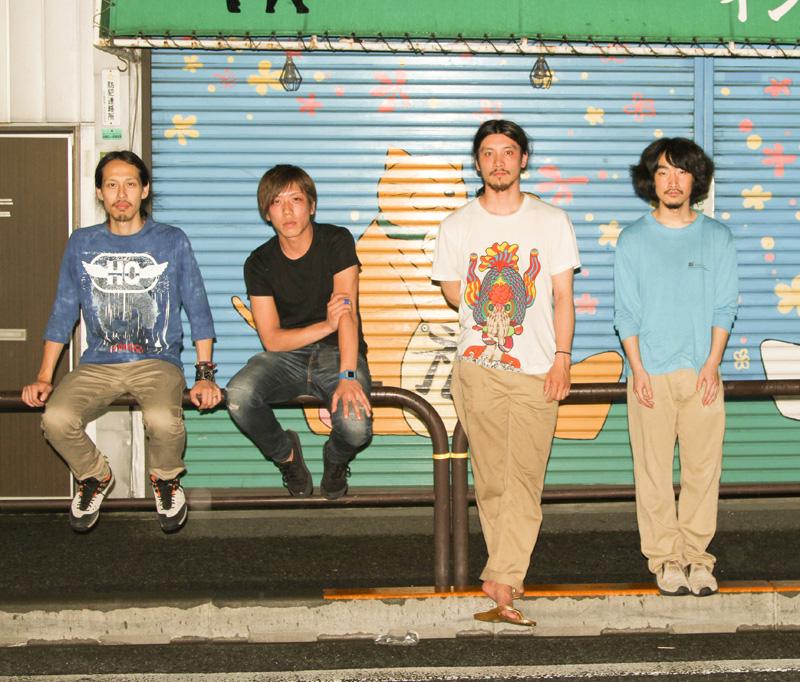 goat [Koshiro Hino a.k.a YPY (guitar, composer), Akihiko Ando (Sax), Tetsushi Nishikawa (Drums), Atsumi Tagami (Bass)]
