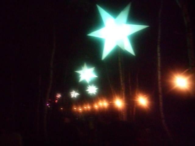 〈フジロック・フェスティバル 2014〉夜の会場
