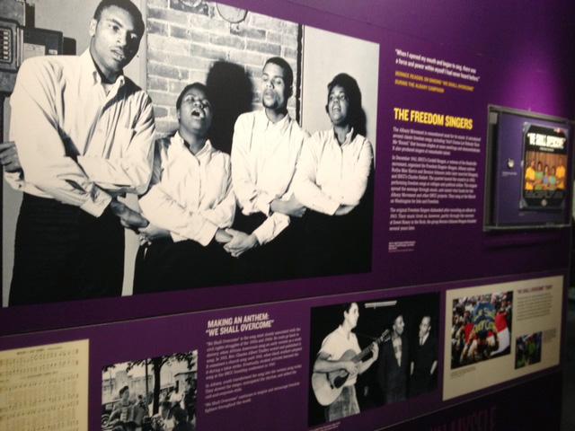 メンフィス国立公民権博物館のThe Freedom Singers