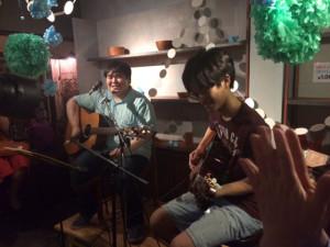 スカート『サイダーの庭』レコ発ライヴ: at 大阪中津HOSHI-JIRUSHI