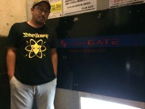 紀州ロックインパクト代表・山野丙午(和歌山GATEオーナー)