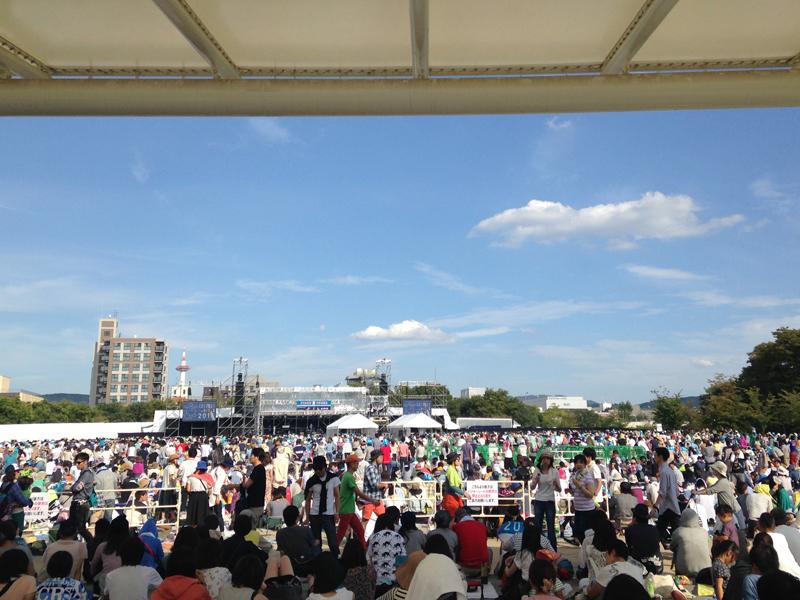 京都音楽博覧会 in 梅小路公園 2014 会場内