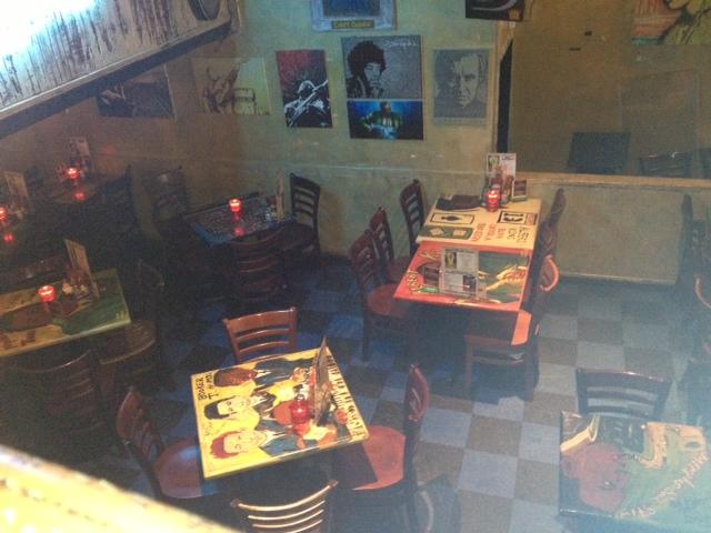 B.B.KING'S BLUES CLUB店内では食事も可能