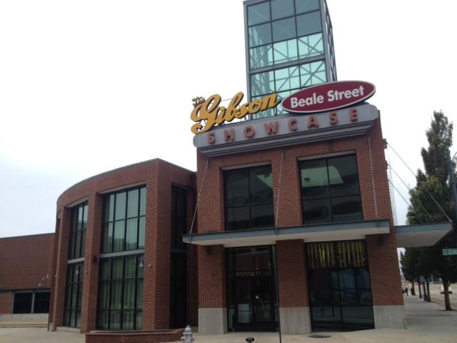 メンフィスのギブソン工場外観