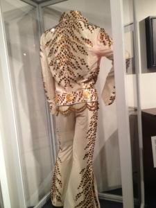 Rock 'n' Soul Museumで見ることが出来るエルヴィス・プレスリーの衣装