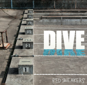 RED SNEAKERS『DIVE』