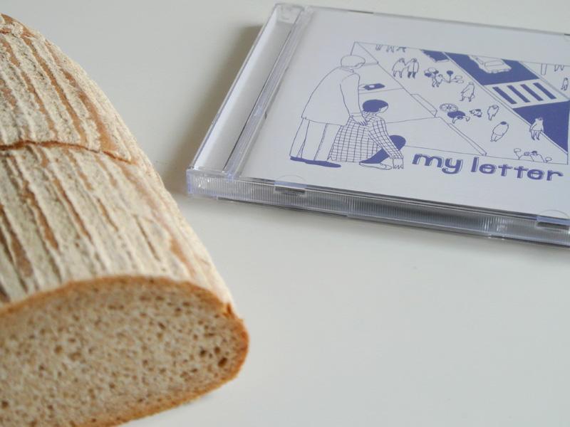my letterのアルバムとベッカライ福十(富山)のドイツパン「ミッシュ・ブロート」