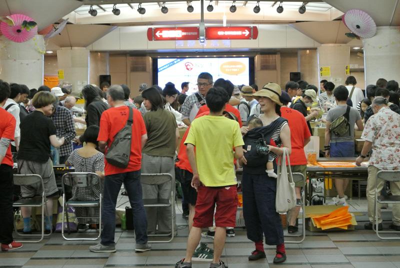 第3回 京都レコード祭り 2日目夕方の模様