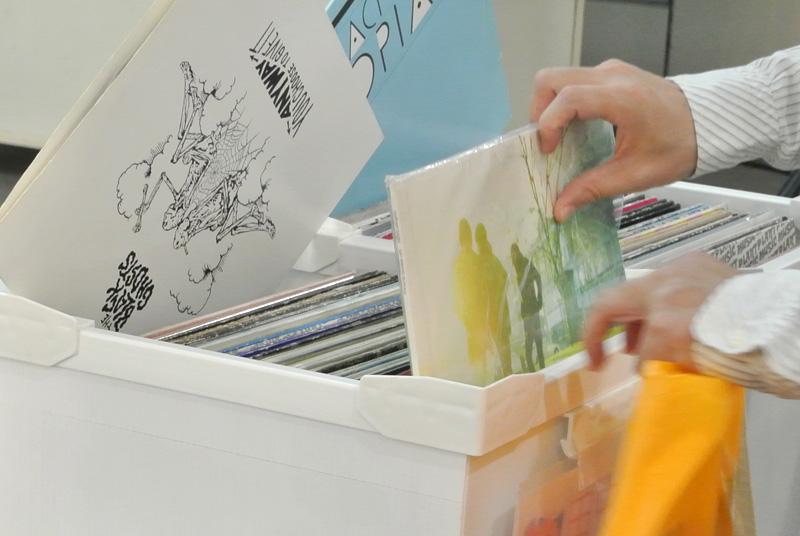 田中亮太さんのレコード箱もありました