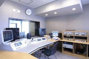アルファステーションのスタジオ