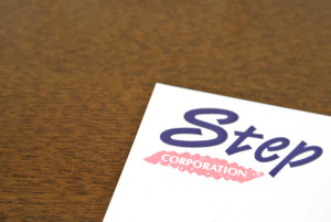 音楽制作会社Stepのロゴ