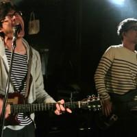 BEDのジューシー山本(Vocal, Guitar)と村山(Bass)